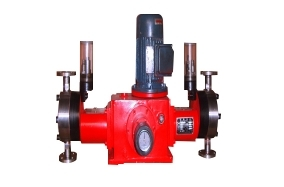 What is the reason for the water discharge from the metering pump not to meet the requirements?