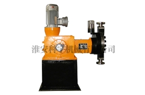 The cause of the failure of the metering pump is insufficient.