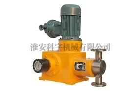 旋转柱塞计量泵的吸排原理介绍!