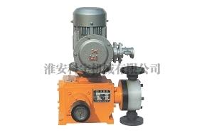 隔膜计量泵结构改进方式及结构原理