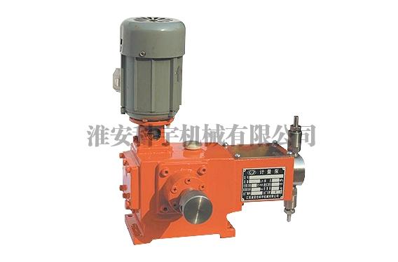 常熟J-W型柱塞式计量泵