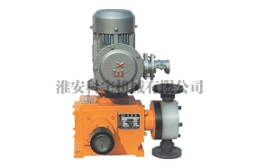 JX-JM型机械隔膜式计量泵